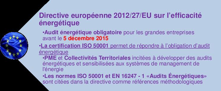 Directive Europeen